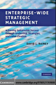 Enterprise-Wide Strategic Management: Achieving Sustainable Success through Leadership, Strategies free download