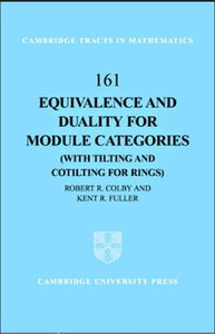 Equivalence and Duality for Module Categories with Tilting and Cotilting for Rings free download