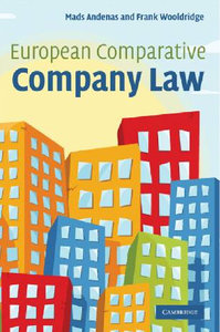 European Comparative Company Law free download