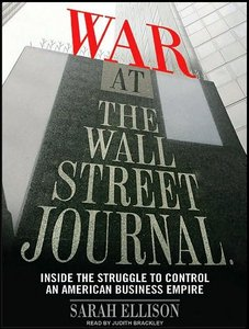 War at the Wall Street Journal [Audiobook] free download