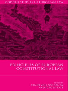 Principles of European Constitutional Law free download