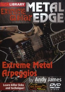 Lick Library - Extreme Guitar - Metal Edge - Extreme Metal Arpeggios free download