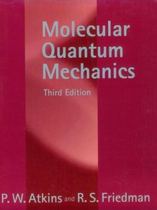 Molecular Quantum Mechanics free download
