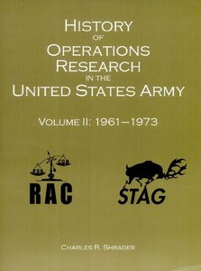 History of Operations Research in the United States Army, V. 2, 1961-1973 free download