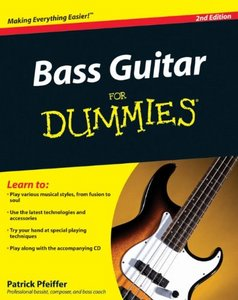Bass Guitar For Dummies, 2 edition free download