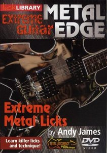 Lick Library - Extreme Guitar - Metal Edge - Extreme Metal Licks free download