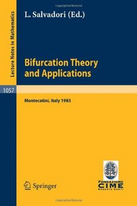Bifurcation Theory and Applications free download