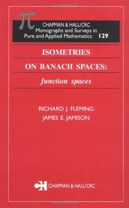 Isometries on Banach Spaces: function spaces free download