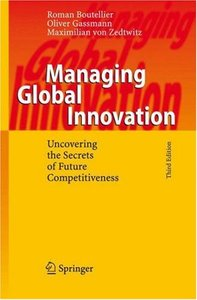 Managing Global Innovation: Uncovering the Secrets of Future Competitiveness free download