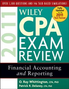 Wiley CPA Exam Review 2011, Financial Accounting and Reporting free download