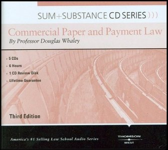 Commercial Paper and Payment Law [Sum free download