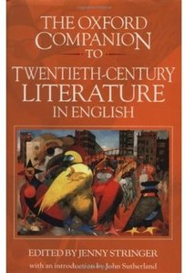 The Oxford Companion to Twentieth-Century Literature in English free download