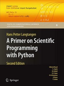 A Primer on Scientific Programming with Python, 2nd Edition free download