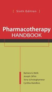 Pharmacotherapy Handbook free download
