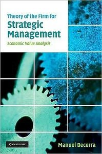 Theory of the Firm for Strategic Management: Economic Value Analysis free download