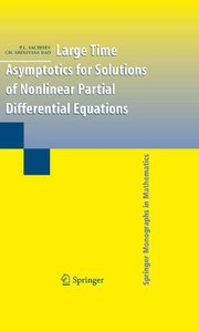 Large Time Asymptotics for Solutions of Nonlinear Partial Differential Equations free download