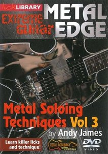 Lick Library - Extreme Guitar - Metal Edge - Metal Soloing Techniques Vol. 3 free download