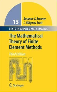 The Mathematical Theory of Finite Element Methods free download