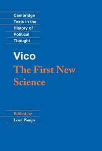 Vico: The First New Science free download