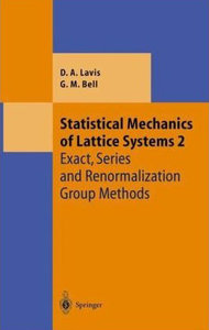 tatistical Mechanics of Lattice Systems: Volume 2 free download