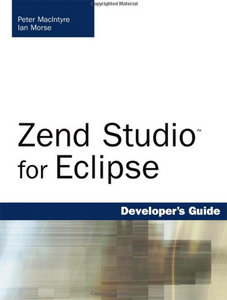 Zend Studio for Eclipse Developer's Guide free download