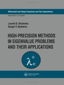 High-Precision Methods in Eigenvalue Problems and Their Applications free download