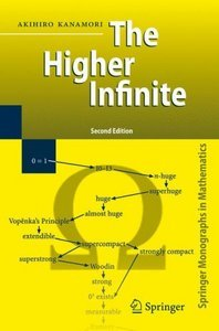 The Higher Infinite: Large Cardinals in Set Theory from Their Beginnings free download