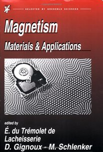 Magnetism: Materials and Applications free download