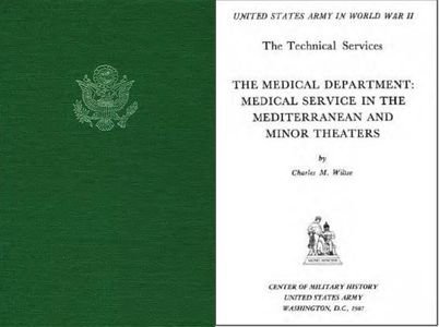 The Medical Department: Medical Service in the Mediterannean and Minor Theaters free download