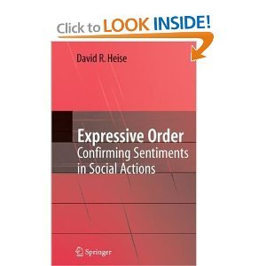 Expressive Order: Confirming Sentiments in Social Actions free download