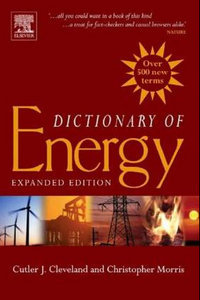Dictionary of Energy: Expanded Edition free download