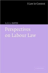 Perspectives on Labour Law (Law in Context) free download