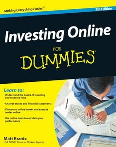 Investing Online For Dummies, 7th Edition free download