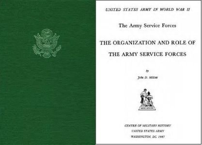 The Organization and Role of the Army Service Forces free download