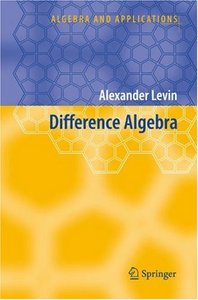 Difference Algebra free download