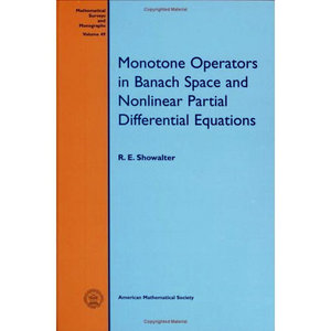 Monotone Operators in Banach Space and Nonlinear Partial Differential Equations free download