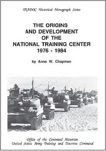 The Origins and Development of the National Training Center 1976-1984 free download