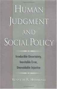 Human Judgment and Social Policy free download