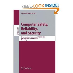 Computer Safety, Reliability, and Security free download