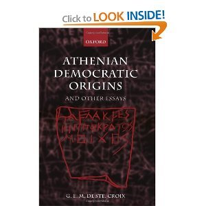 Athenian Democratic Origins: and other essays free download