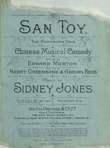San Toy, or, The Emperor's own : a Chinese musical comedy free download