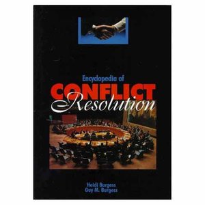 Encyclopedia of Conflict Resolution free download