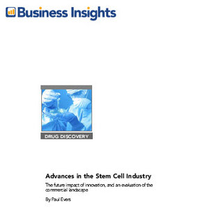 Business Insights - Advances in the Stem Cell Industry free download