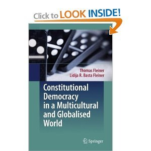 Constitutional Democracy in a Multicultural and Globalised World free download