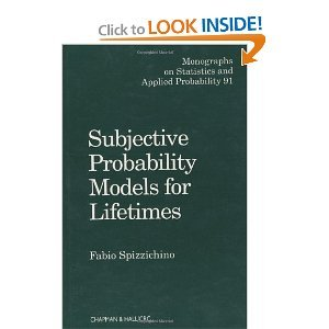 Subjective Probability Models for Lifetimes (Monographs on Statistics and Applied Probability 91) free download