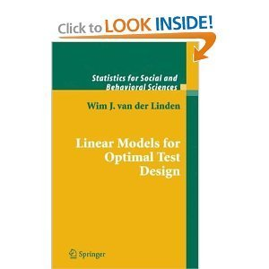 Linear Models for Optimal Test Design free download
