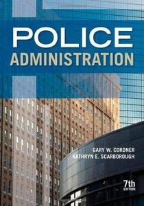 Police Administration (7th Edition) free download
