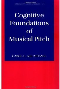 Cognitive Foundations of Musical Pitch free download