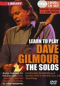 Lick Library - Learn to play Dave Gilmour - The Solos free download