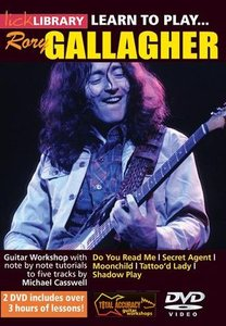 Lick Library - Learn to play Rory Gallagher / Michael Casswell free download